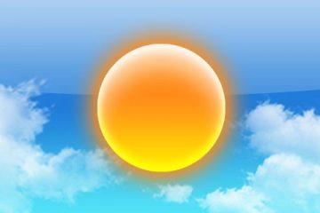 სინოპტოკოსების პროგნოზით, ჰაერის ტემპერატურა 4 აგვისტოს ზოგან 38-40 გრადუსს მიაღწევს