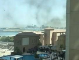 დუბაიში სასტუმროს ცეცხლი გაუჩნდა