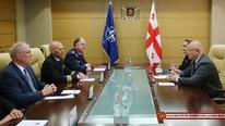 ლევან იზორიამ და NATO-ს ძირითადი ჯგუფის ახალმა ხელმძღვანელმა სამომავლო თანამშრომლობის გეგმებზე ისაუბრეს