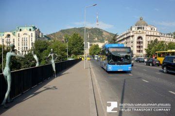 MAN-ის ახალი ავტობუსები მგზავრებს №39 მარშრუტზეც მოემსახურება