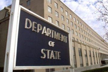 აშშ-ს სახელმწიფო დეპარტამენტი რუსეთს მოუწოდებს პატივი სცენ საქართველოს სუვერენიტეტსა და ტერიტორიულ მთლიანობას