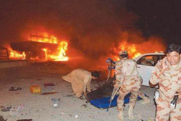 პაკისტანში მომხდარი ტერაქტის შედეგად 15 ადამიანი დაიღუპა
