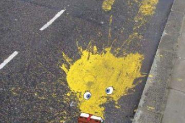 ქუჩის კრეატიული მხატვრობა