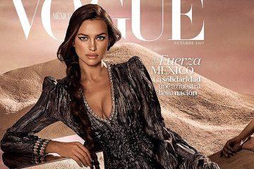 ირინა შეიკის ფოტო მექსიკური Vogue-ის ყდას ამშვენებს