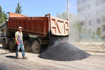 საბურთალოს რაიონში ინფრასტრუქტურული სამუშაოები მიმდინარეობს