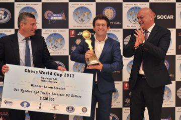 თბილისში დასრულდა მსოფლიო თასი ჭადრაკში