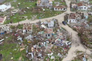 """ქარიშხალ """"ირმას"""" შემდგომ კუნძული ბარბუდა გაუკაცრიელდა"""