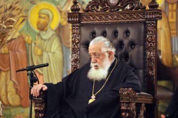 ილია II ლიტურგიას ხარების ეკლესიაში აღავლენს