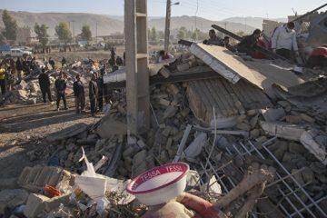 ირან-ერაყის საზღვარზე მიწისძვრის მსხვერპლი 445-მდე გაიზარდა