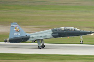 ტეხასში სამხედრო თვითმფრინავი ჩამოვარდა