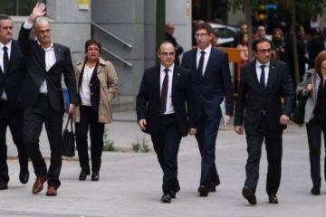 ესპანეთის სასამართლომ კატალონიის ყოფილი მინისტრები დააკავა