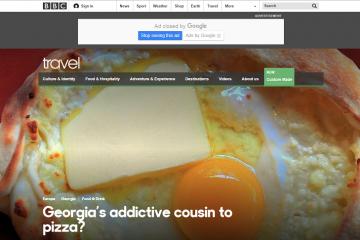 BBC ქართული კერძის შესახებ – ენათესავება თუ არა პიცა ხაჭაპურს?