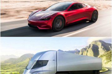 Tesla-მ მომავლის მანქანები დააანონსა