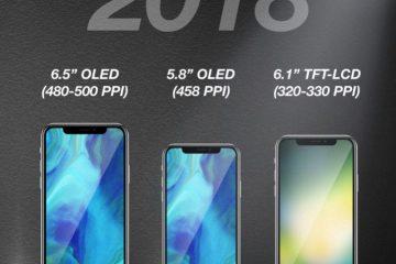 Apple-ი მომავალ წელს სავარაუდოდ 3 სმარტფონსს გამოუშვებს