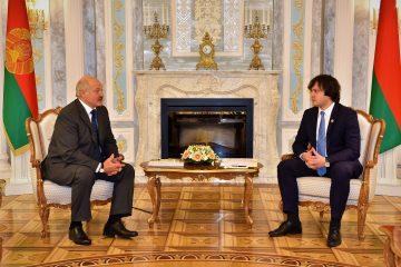 ირაკლი კობახიძე ბელარუსის რესპუბლიკის პრეზიდენტს შეხვდა