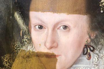 მე-17 საუკუნის ფერწერული ტილოს გაცოცხლება