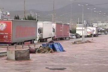 საბერძნეთში წყალდიდობის მსხვერპლი 15-მდე გაიზარდა