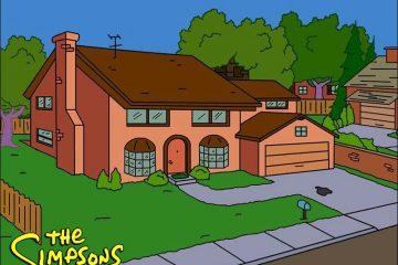 """""""სიმფსონების"""" სახლი სხვადასხვა არქიტექტურული სტილით"""