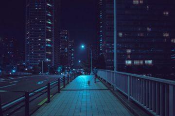 ღამის ტოკიოს სურათები