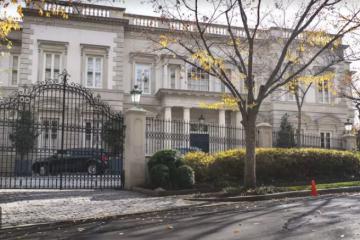 WP: ვაშინგტონში ერთ-ერთი ყველაზე ძვირადღირებული სახლი, სავარაუდოდ, პუტინთან დაახლოებული ოლიგარქის საკუთრებაა