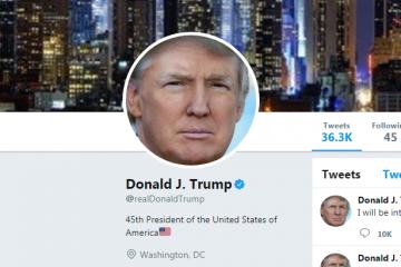 აშშ-ს პრეზიდენტის Twitter-ის გვერდი 11 წუთით გათიშეს