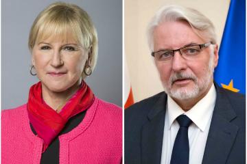 საქართველოს შვედეთისა და პოლონეთის საგარეო საქმეთა მინისტრები ეწვევიან