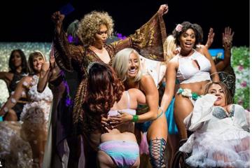 აშშ-ში იმიტირებული Victoria's Secret-ის ჩვენება გაიმართა