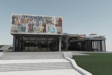 მცხეთის არქეოლოგიური მუზეუმის ახალ შენობაზე ტენდერი გამოცხადდა (ფოტოამბავი)