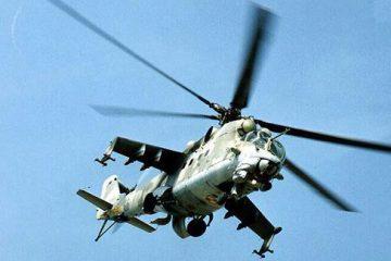 ტერორისტებმა სირიის ტერიტორიაზე რუსული ვერტმფრენის განადგურების კადრები გაავრცელეს