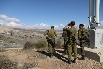 ისრაელმა სირიის საზღვარზე უპილოტო აპარატი ჩამოაგდო