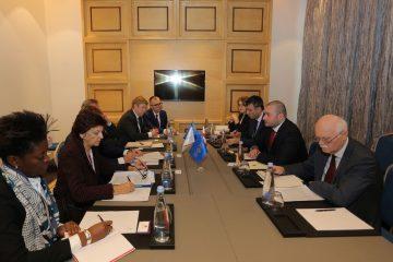 ფინანსთა მინისტრი ევროპის საინვესტიციო ბანკის ვიცეპრეზიდენტს შეხვდა