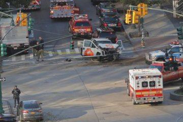 მანჰეტენზე უცნობი პირი ველოსიპედისტებს შეეჯახა, დაღუპულია 8 ადამიანი