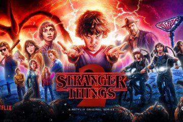 კადრები Stranger Things-ის მეორე სეზონის გადასაღები მოედნიდან