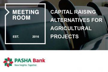 სოფლის მეურნეობის პროექტების დაფინანსების ალტერნატივები – პაშა ბანკის მეოთხე კონფერენცია MEETING ROOM-ის ფარგლებში