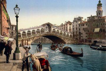 ფოტოები არქივიდან: ვენეცია 1890 წელს
