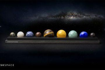 ხელნაკეთი მზის სისტემა თქვენი მაგიდისთვის