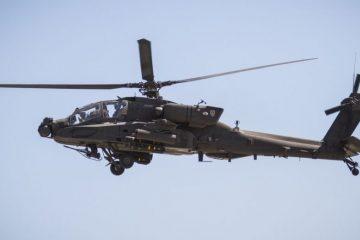 კალიფორნიაში სამხედრო ვერტმფრენი ჩამოვარდა