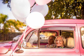 ფოტოები: ტყუპი დების განუმეორებელი 100 წლის იუბილე