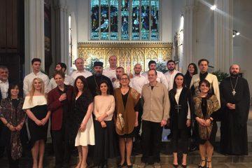 ლონდონში ქართული საეკლესიო გუნდის კონცერტი გაიმართა