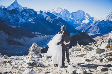 ალპინისტი წყვილი ევერესტზე, ზღვის დონიდან 5380 მეტრზე დაქორწინდა