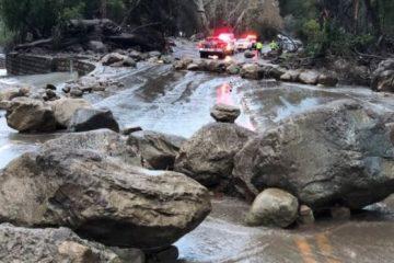 კალიფორნიაში ღვარცოფს 13 ადამიანის სიცოცხლე ემსხვერპლა