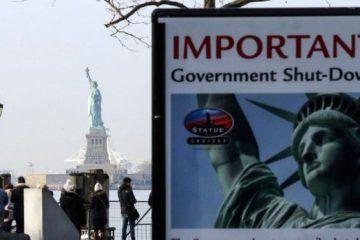 Shutdown: აშშ-ს სახელმწიფო უწყებების დიდი ნაწილი არ მუშაობს