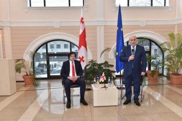ირაკლი კობახიძე უკრაინაში ქართულ დიასპორას შეხვდა