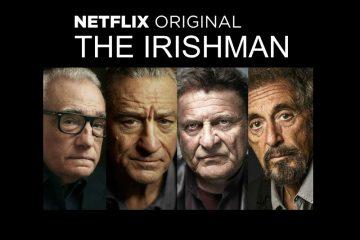 """მარტინ სკორსეზეს სამომავლო ფილმ """"ირლანდიელის"""" პირველი ოფიციალური პოსტერი"""