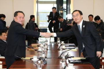 ჩრდილოეთ და სამხრეთ კორეის დელეგაციებმა პირველად 2 წლის შემდეგ შეხვედრა გამართეს