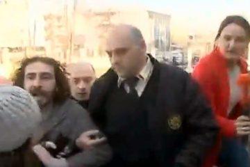 თორნიკე ბზიავა და ბექა წიქარიშვილი სასამართლოს შენობასთან დააკავეს