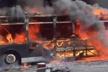 ყაზახეთში, ავტობუსში გაჩენილი ხანძრის შედეგად 52 ადამიანი დაიღუპა                                                მსოფლიო                                                )