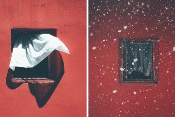 ფოტოგრაფი, რომელიც 12 წლის განმავლობაში ერთსა და იმავე ფანჯარას უღებდა…