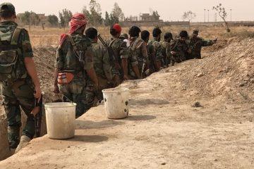 სირიელი სამხედროები ტერორისტებს ჩაბარდნენ (ვიდეო)