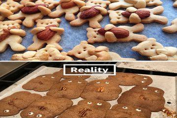 კერძები: წარმოდგენა Vs რეალობა